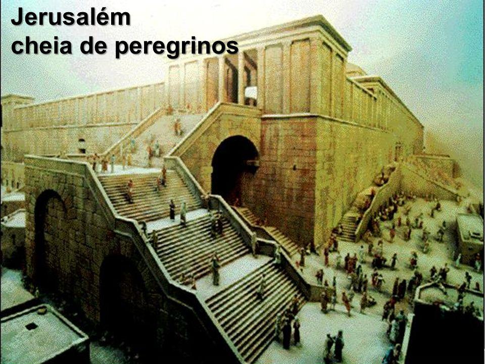Jerusalém cheia de peregrinos