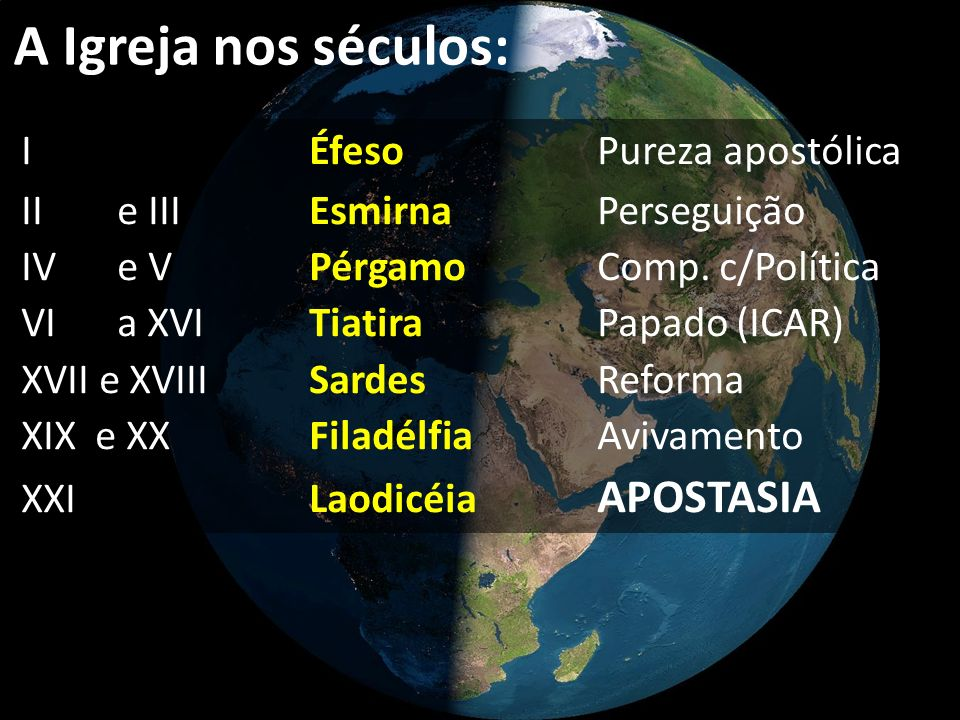 A Igreja nos séculos: I Éfeso Pureza apostólica