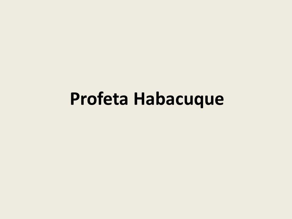 Profeta Habacuque