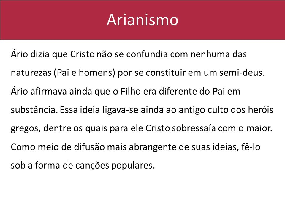 Arianismo