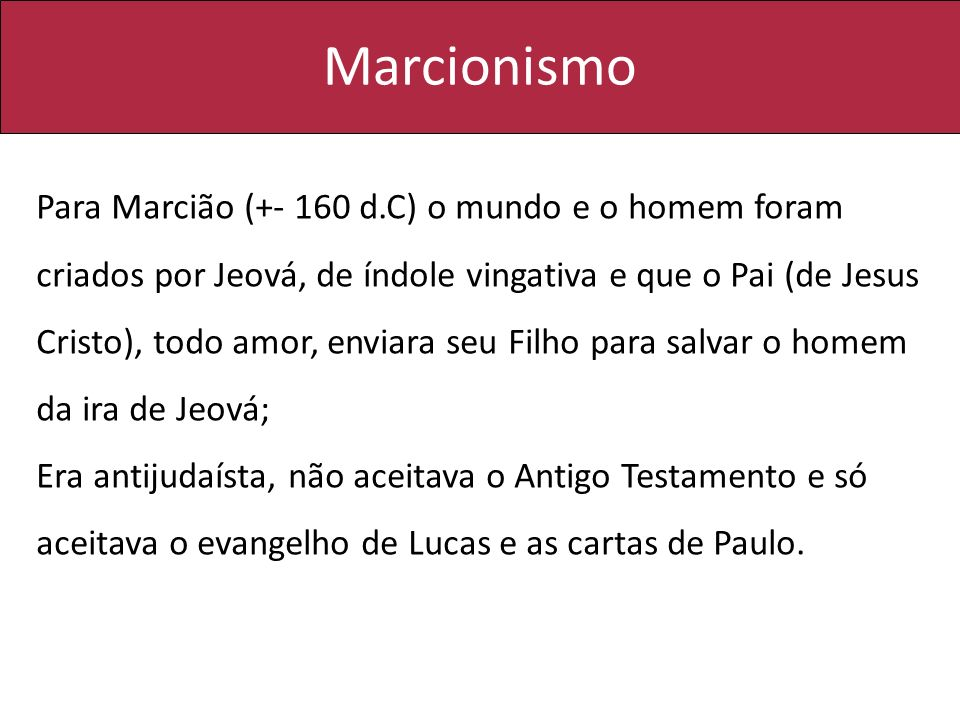 Marcionismo