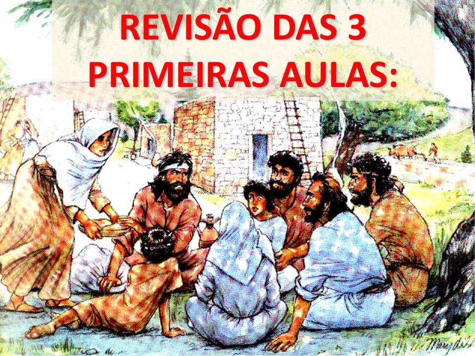 REVISÃO DAS 3 PRIMEIRAS AULAS: