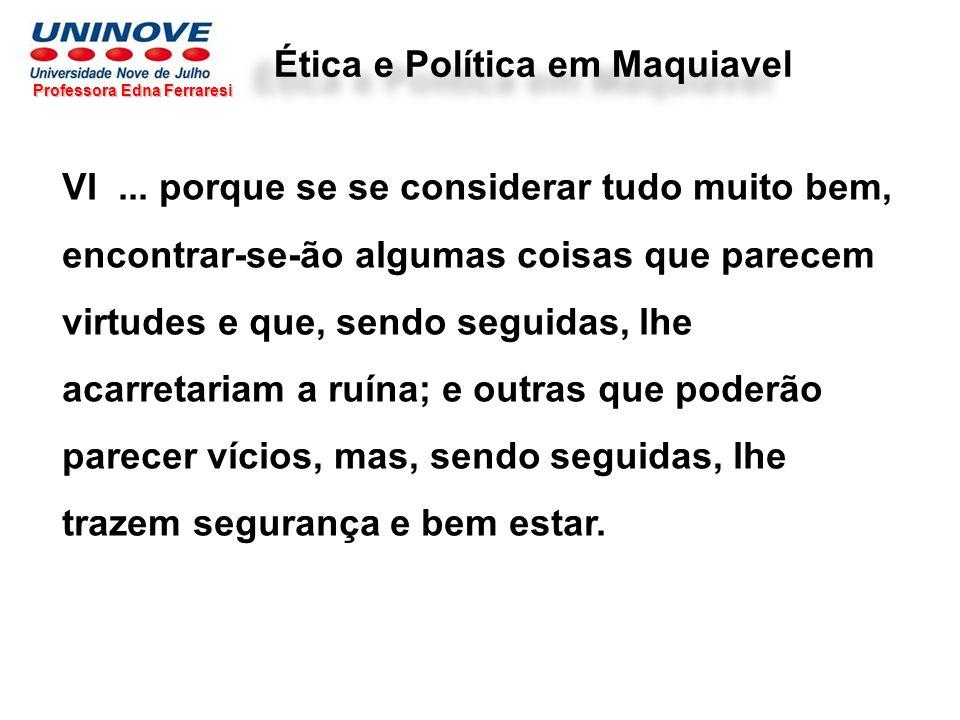 Ética e Política em Maquiavel