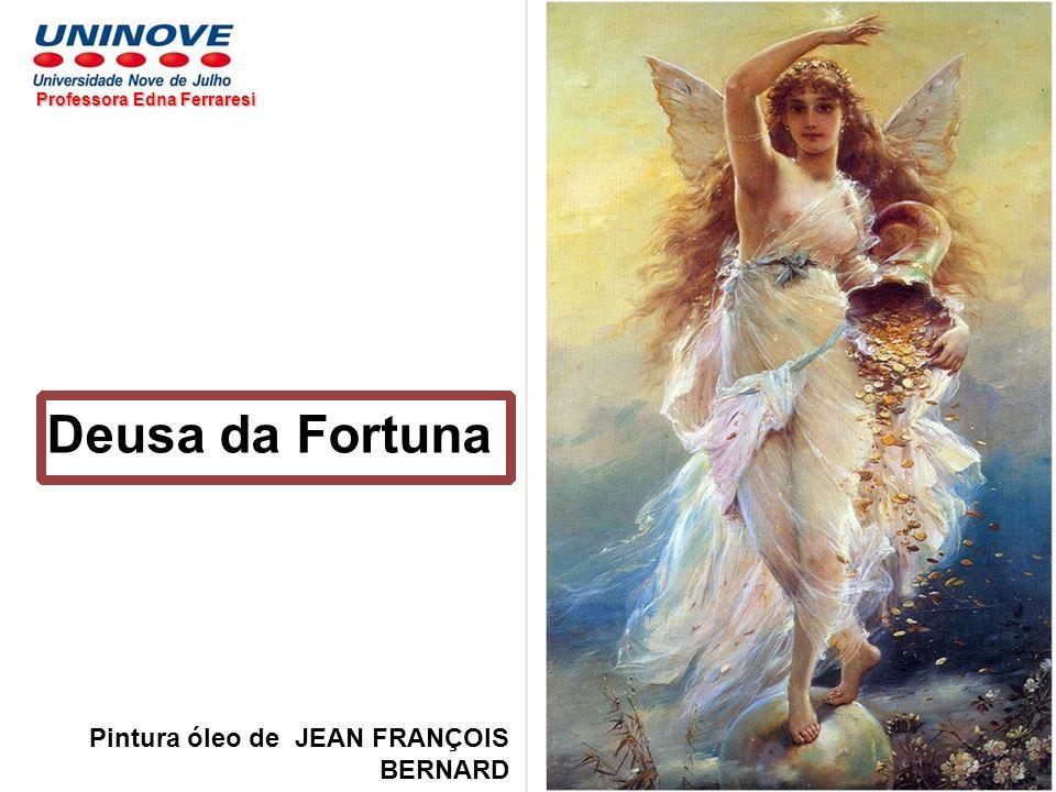 Deusa da Fortuna Pintura óleo de JEAN FRANÇOIS BERNARD