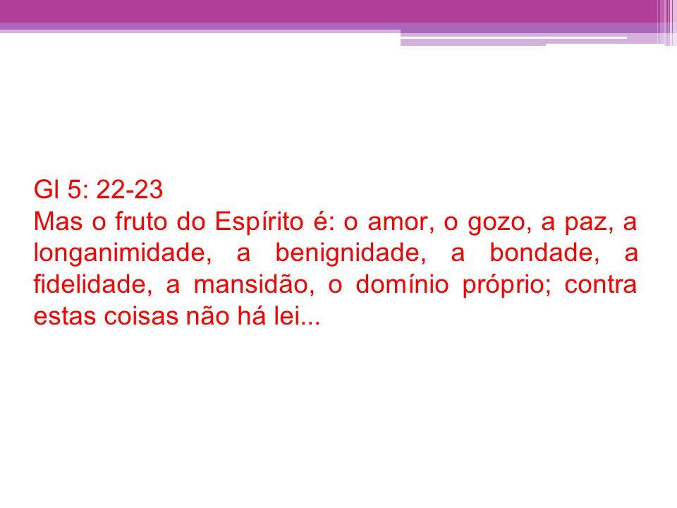 Gl 5: 22-23