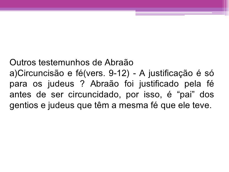 Outros testemunhos de Abraão