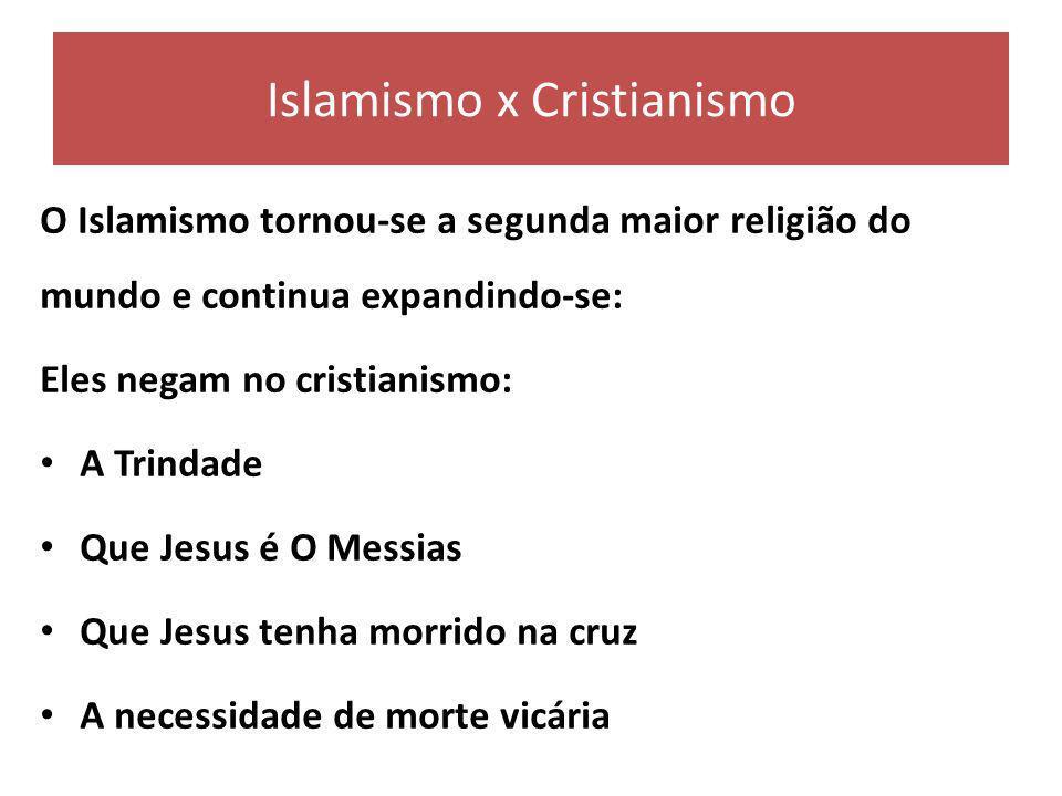Islamismo x Cristianismo