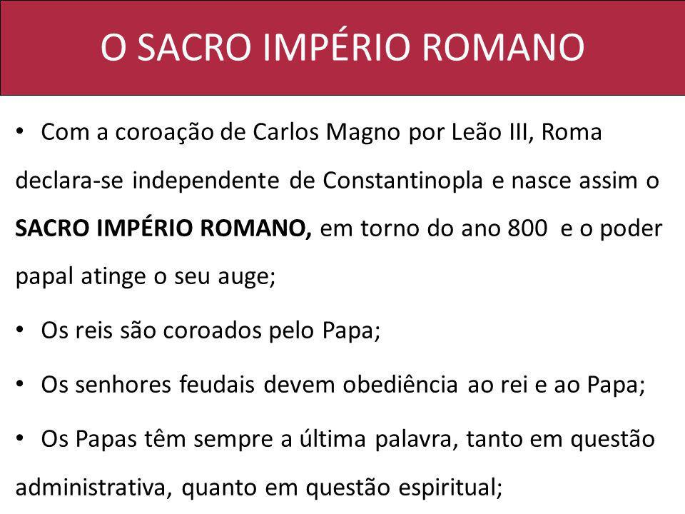 O SACRO IMPÉRIO ROMANO