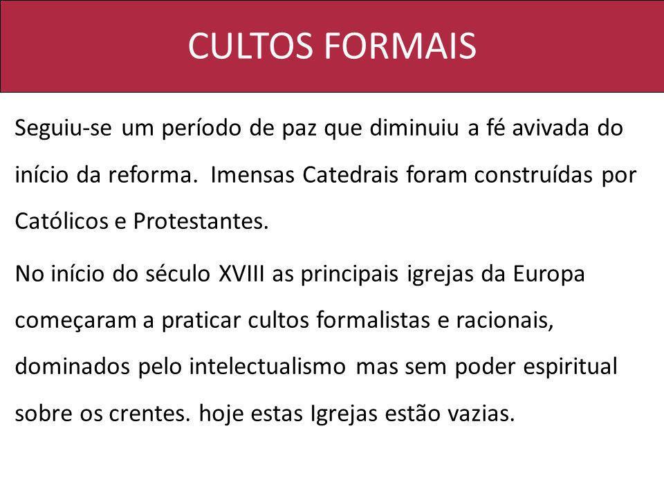 CULTOS FORMAIS
