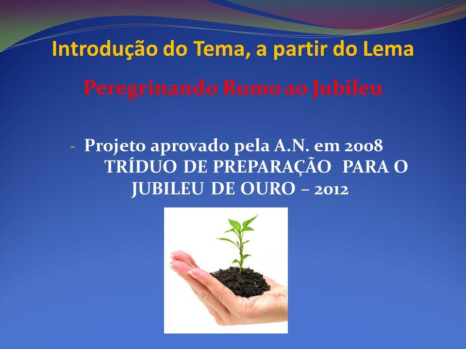Introdução do Tema, a partir do Lema