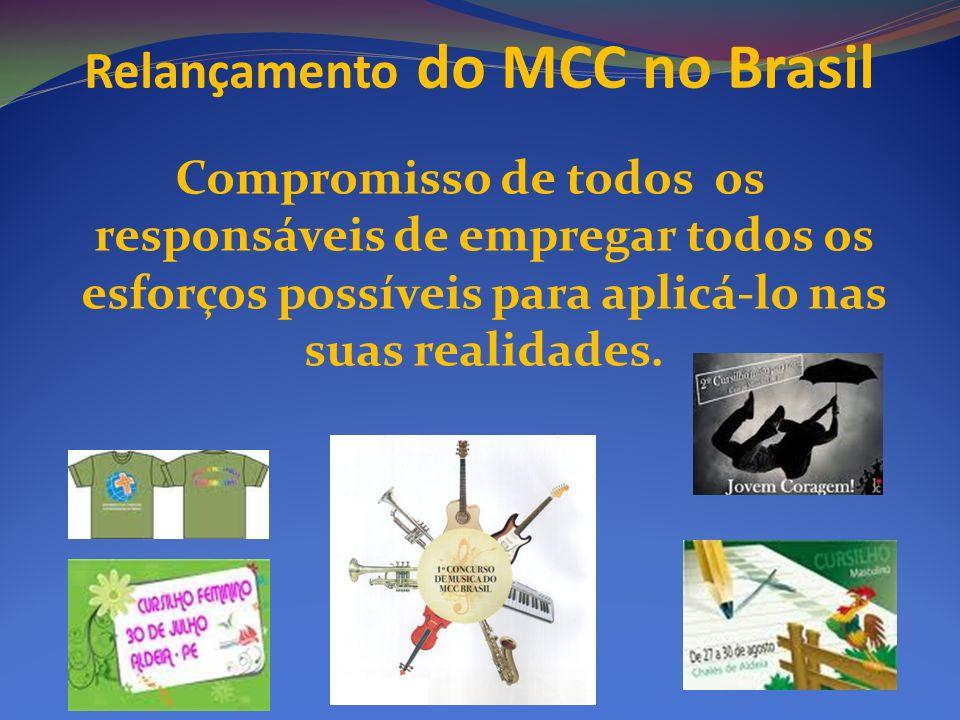 Relançamento do MCC no Brasil