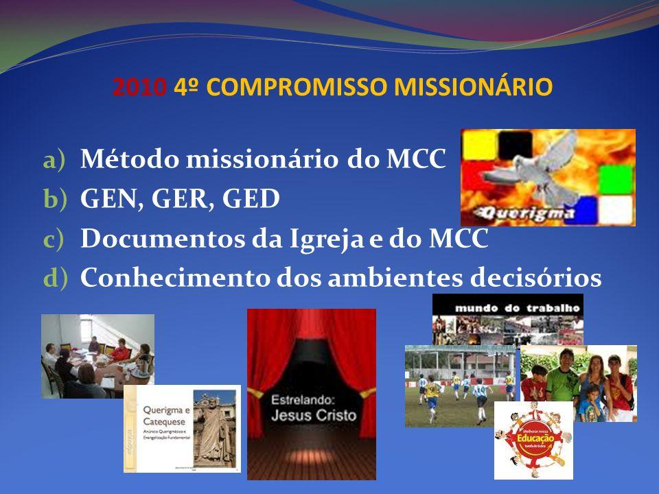 2010 4º COMPROMISSO MISSIONÁRIO