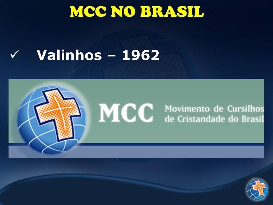 MCC NO BRASIL Valinhos – 1962