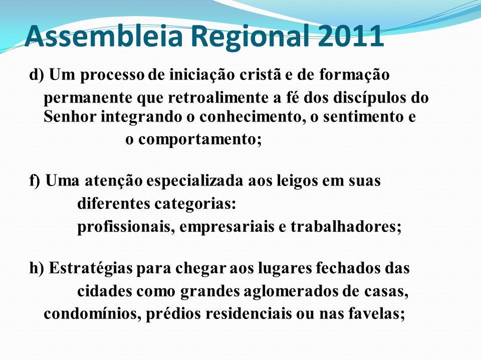 Assembleia Regional 2011