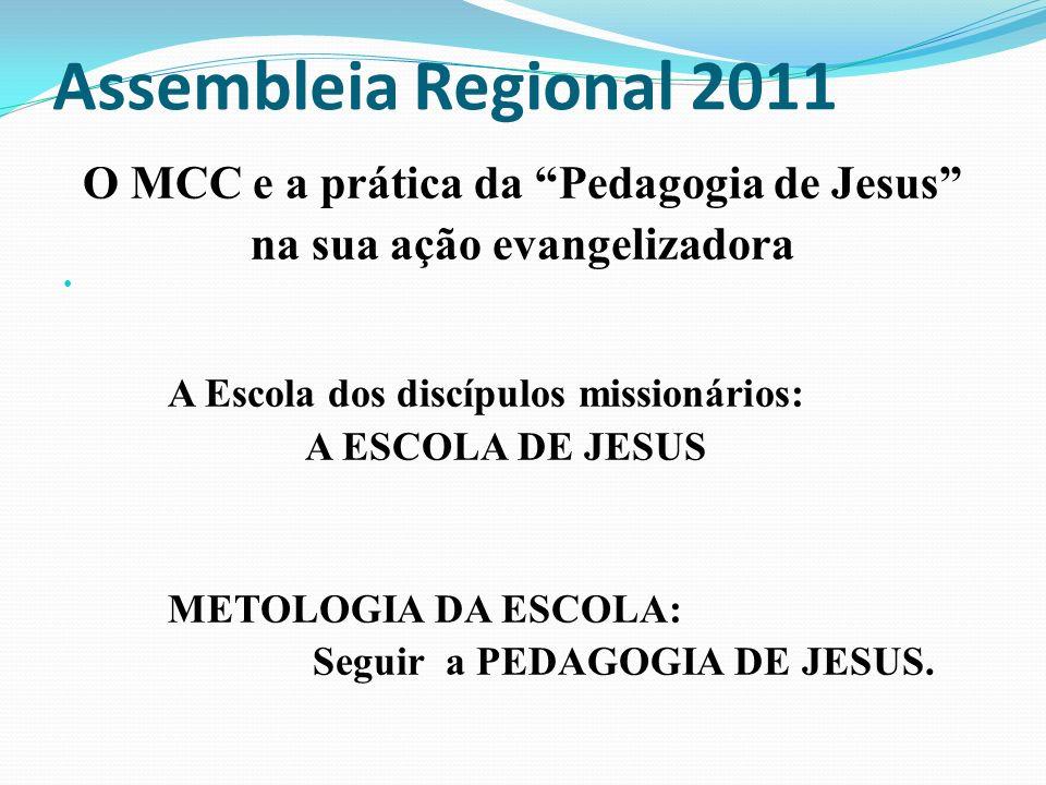 O MCC e a prática da Pedagogia de Jesus na sua ação evangelizadora