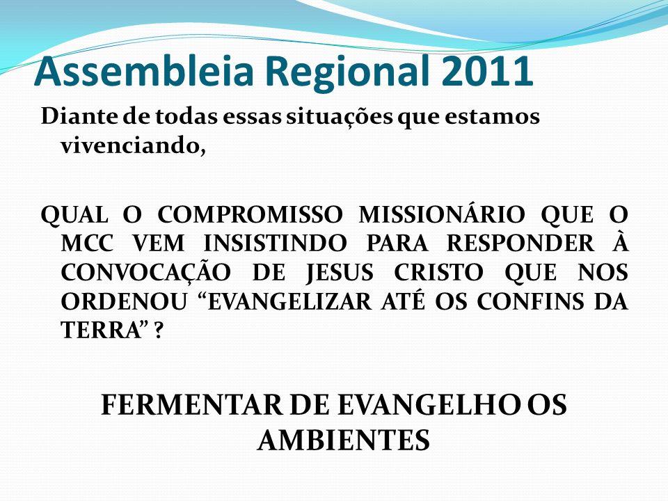FERMENTAR DE EVANGELHO OS AMBIENTES