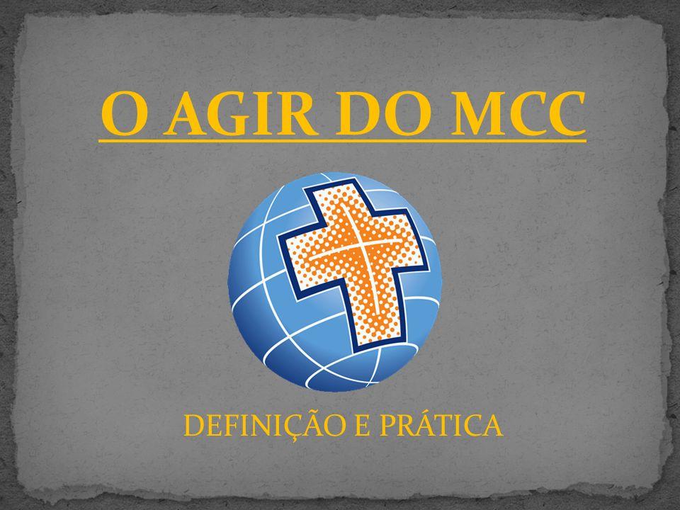 O AGIR DO MCC DEFINIÇÃO E PRÁTICA