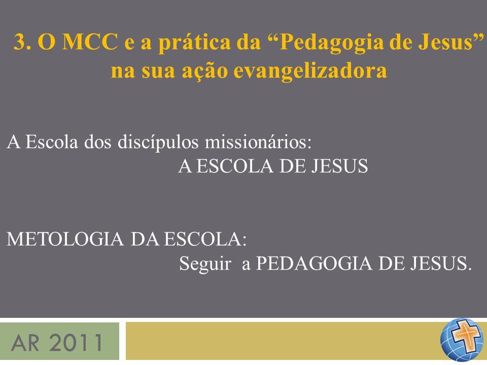 3. O MCC e a prática da Pedagogia de Jesus