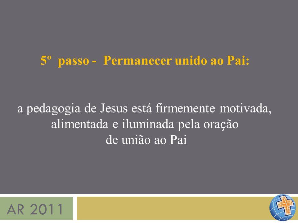 AR 2011 5º passo - Permanecer unido ao Pai: