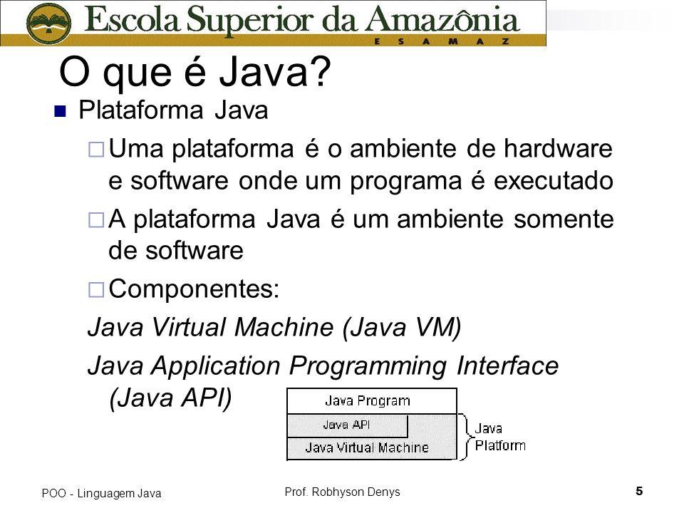 O que é Java Plataforma Java