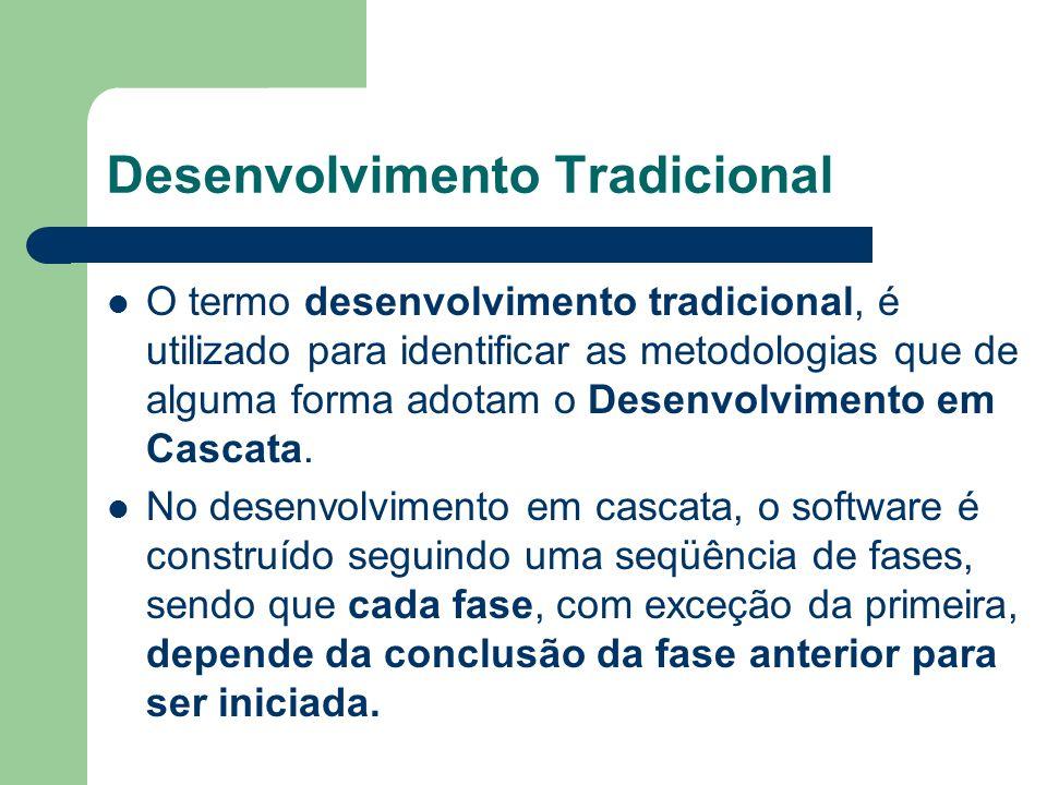 Desenvolvimento Tradicional