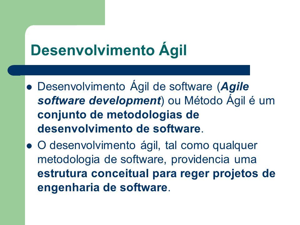 Desenvolvimento Ágil