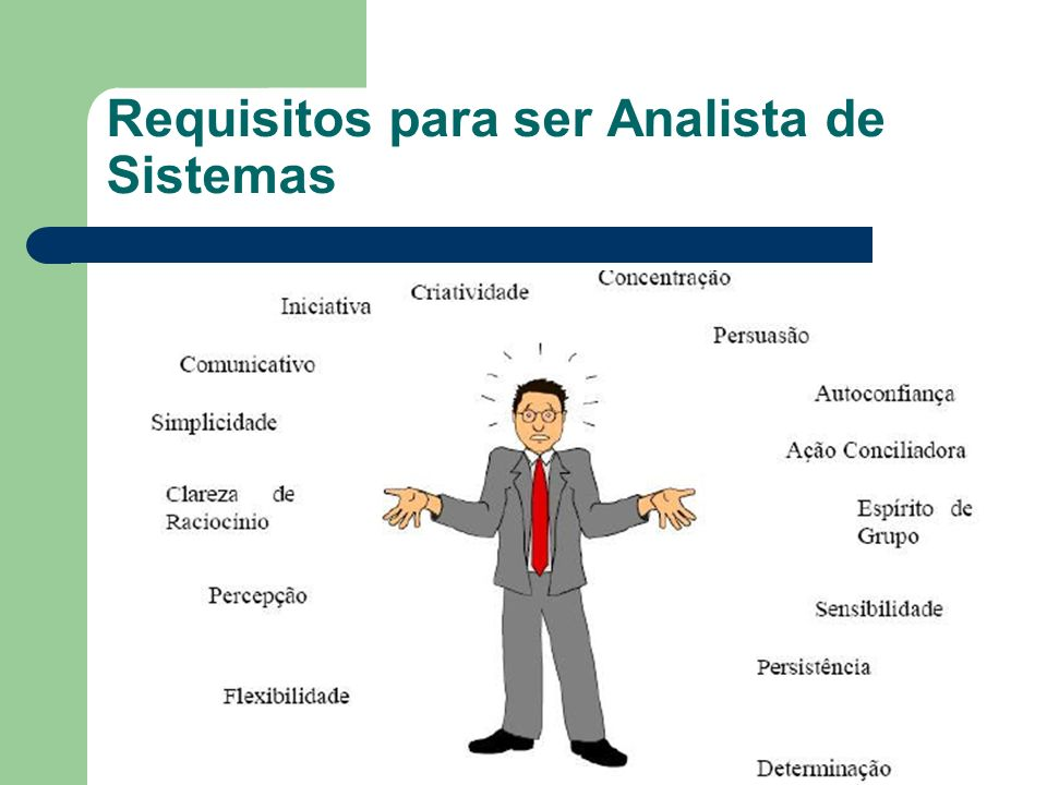Requisitos para ser Analista de Sistemas