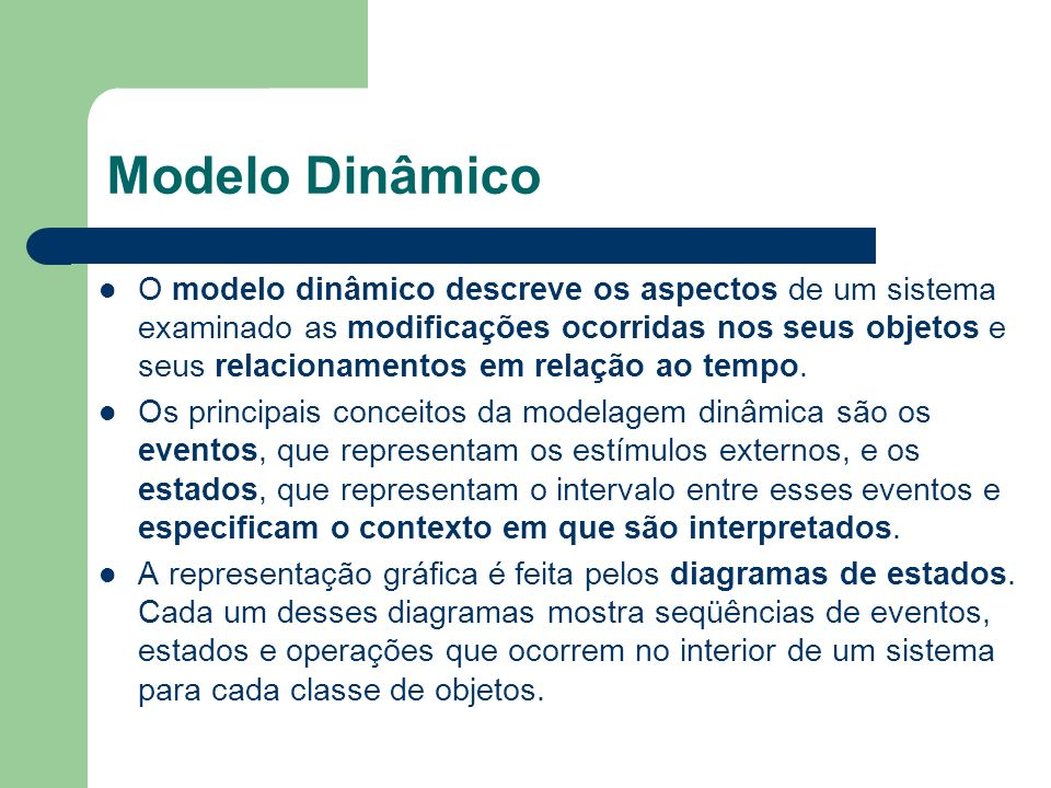 Modelo Dinâmico