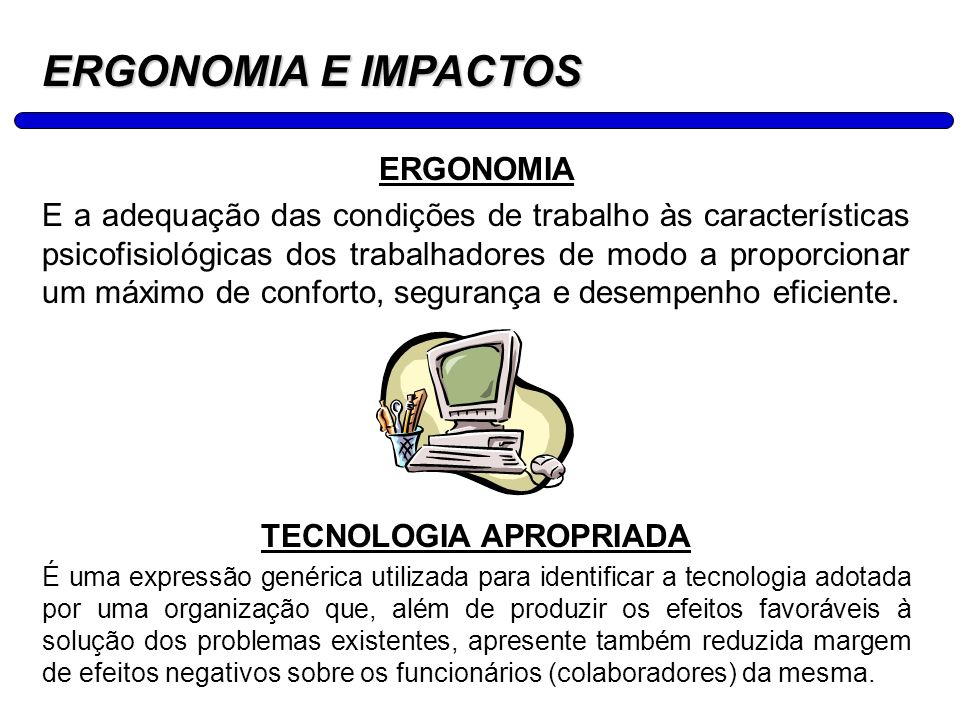 TECNOLOGIA APROPRIADA