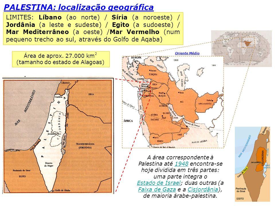 Área de aprox. 27.000 km2 (tamanho do estado de Alagoas)