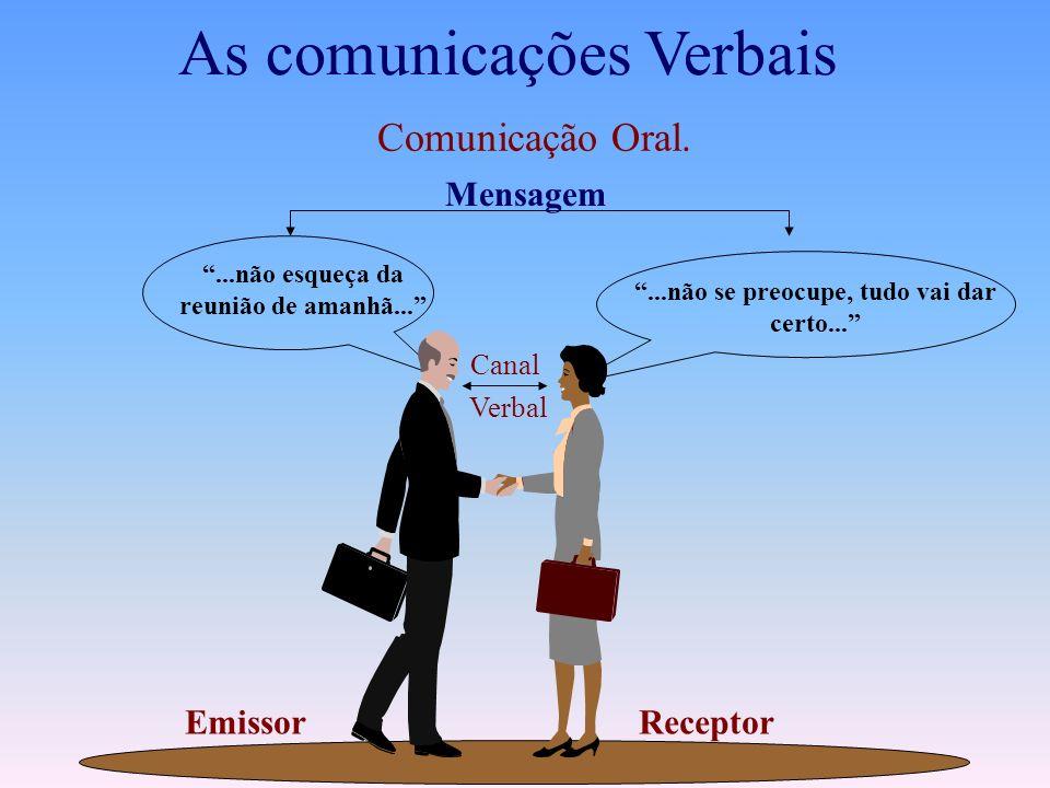 As comunicações Verbais