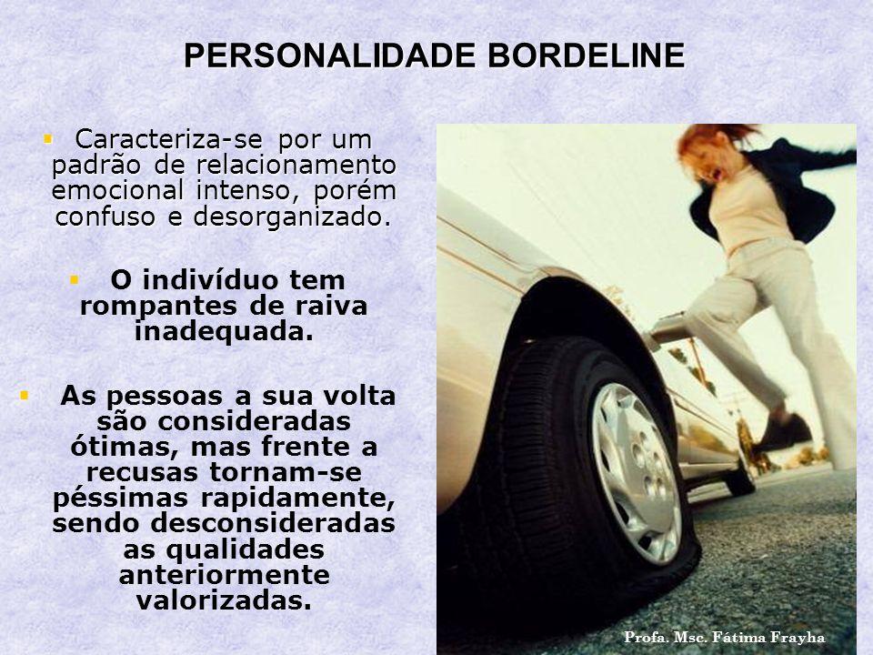 PERSONALIDADE BORDELINE