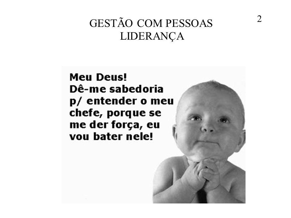 GESTÃO COM PESSOAS 2 LIDERANÇA
