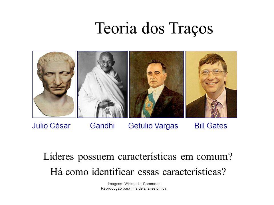 Teoria dos Traços Líderes possuem características em comum