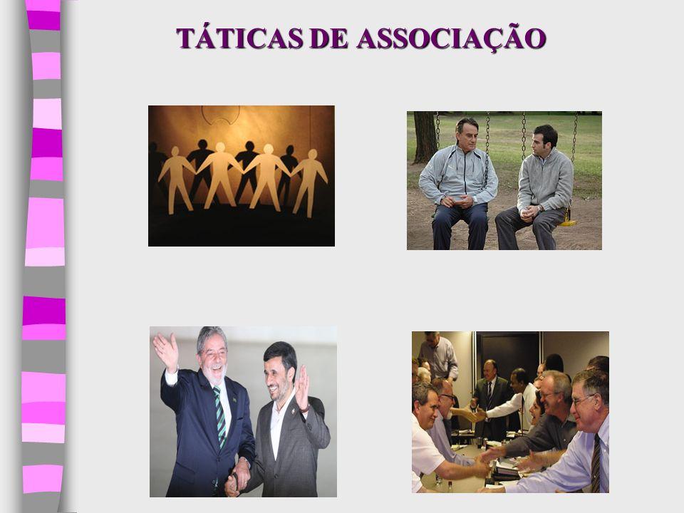 TÁTICAS DE ASSOCIAÇÃO