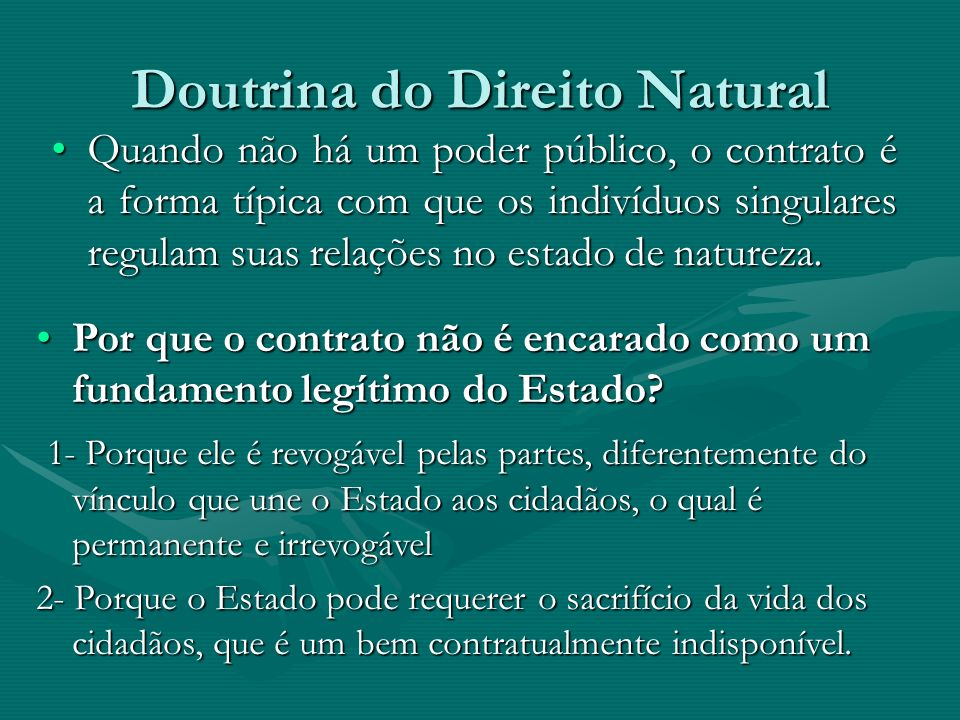 Doutrina do Direito Natural