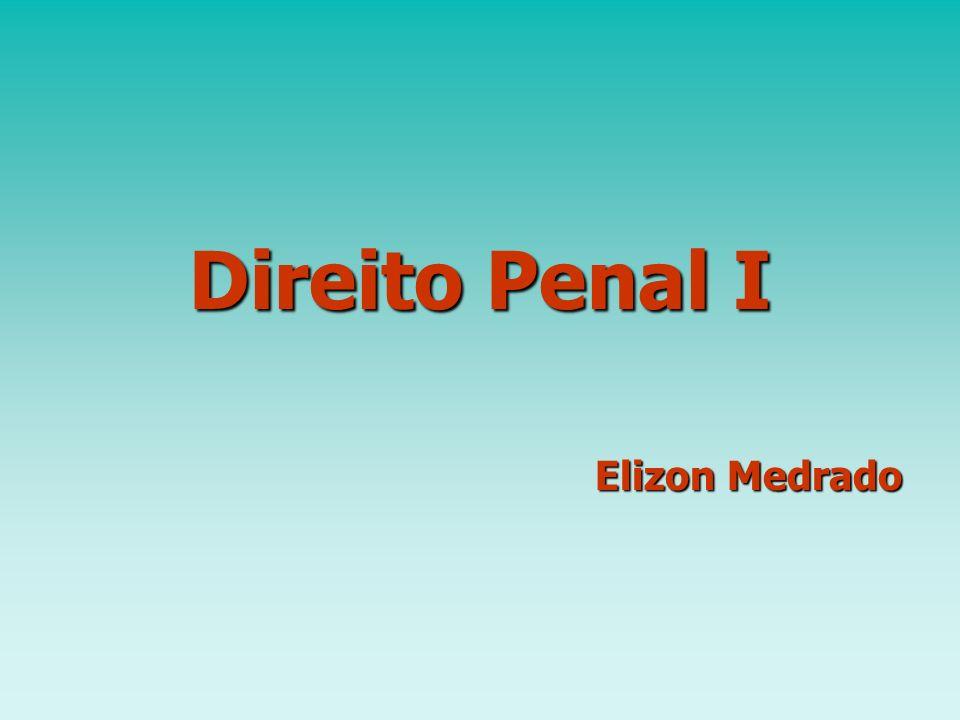 Direito Penal I Elizon Medrado