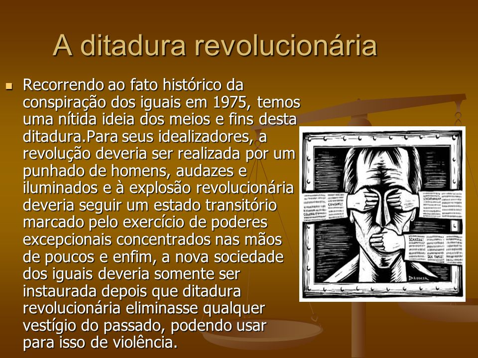 A ditadura revolucionária