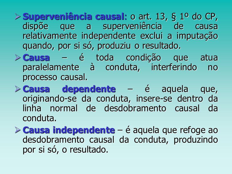 Superveniência causal: o art
