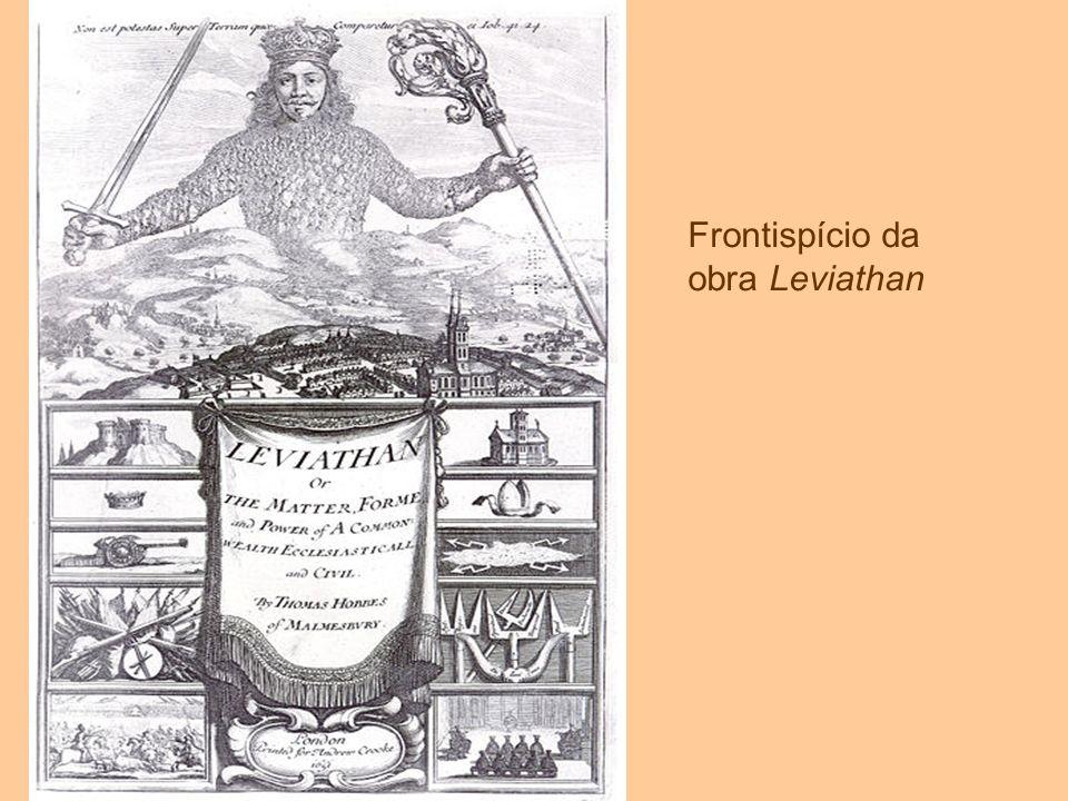 Frontispício da obra Leviathan