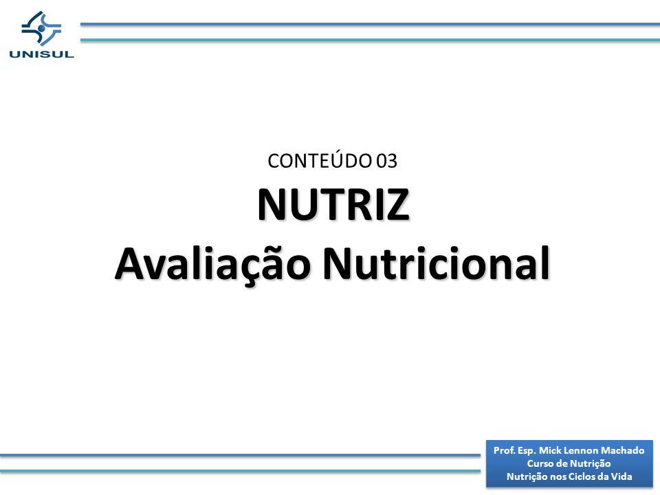 NUTRIZ Avaliação Nutricional