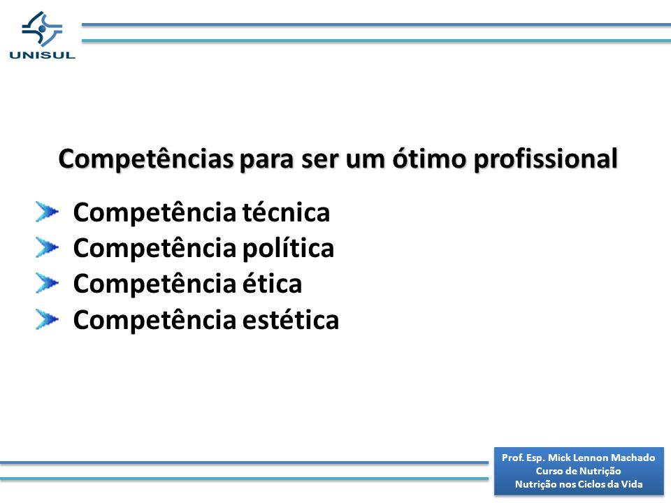 Competências para ser um ótimo profissional