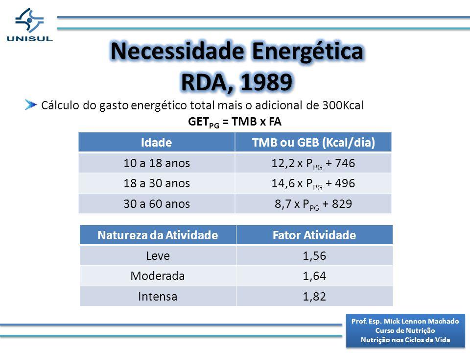 Necessidade Energética RDA, 1989