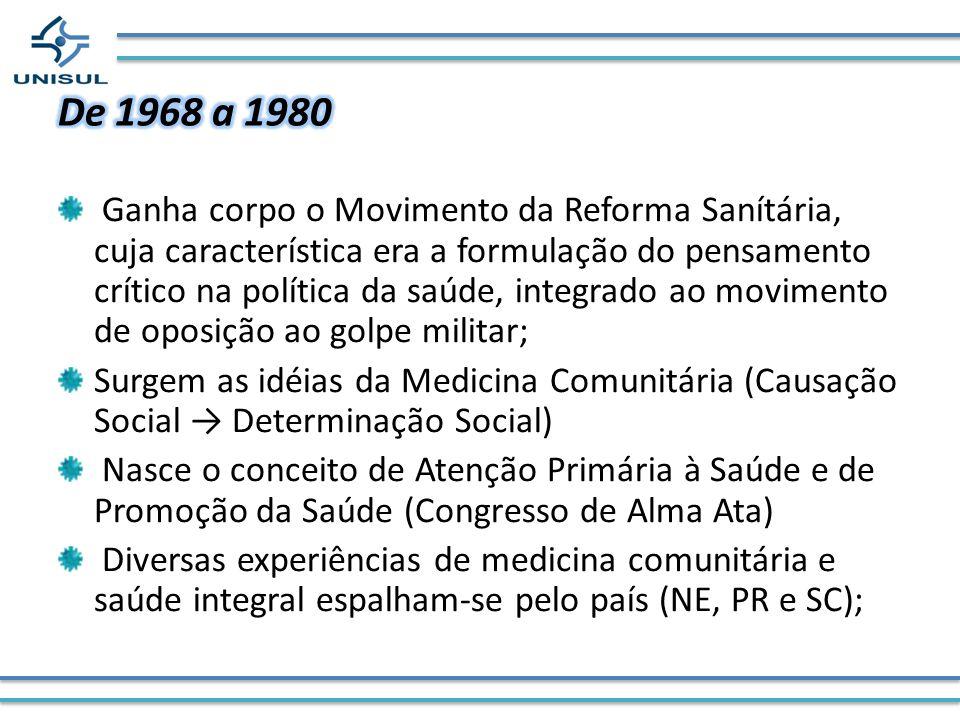 De 1968 a 1980