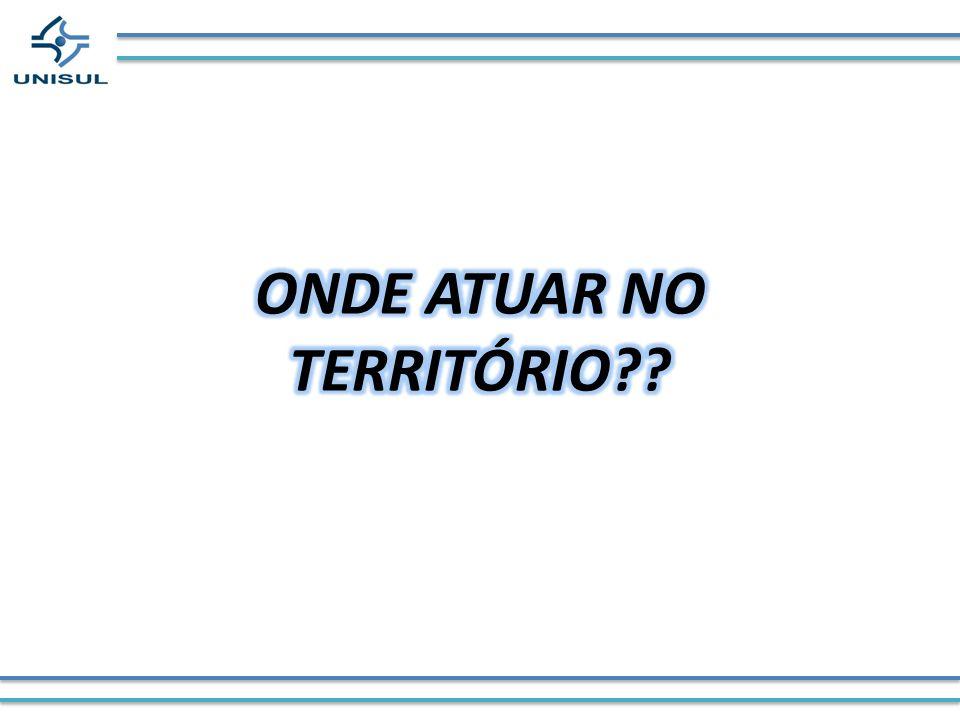 ONDE ATUAR NO TERRITÓRIO