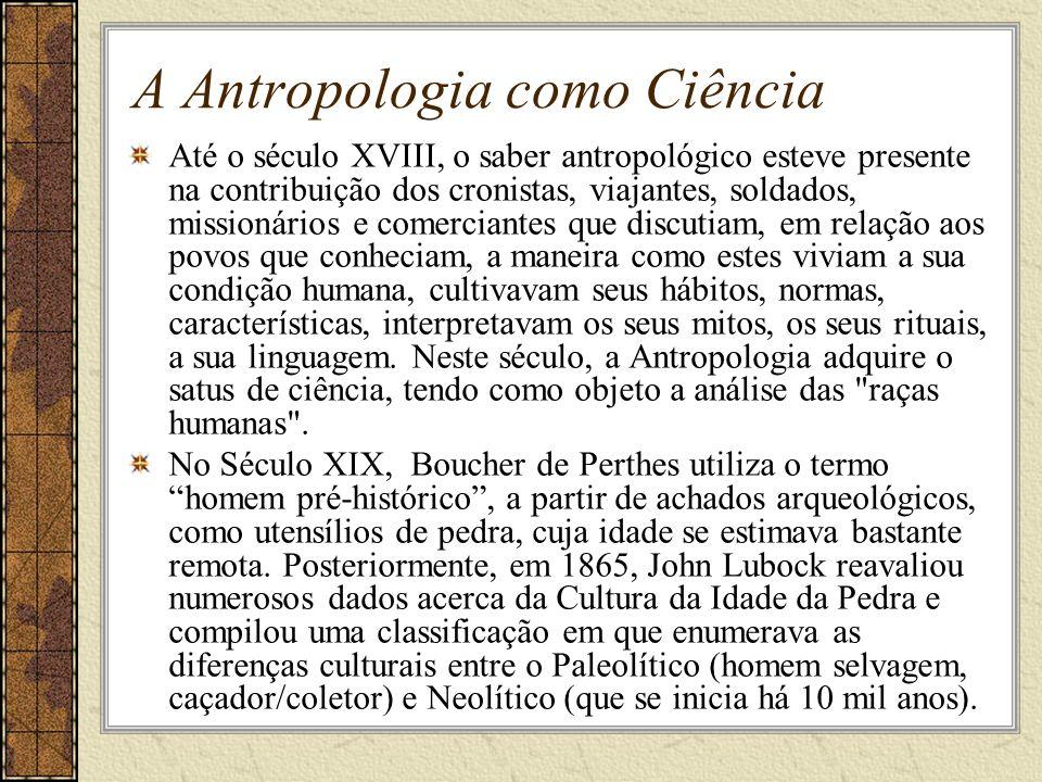 A Antropologia como Ciência