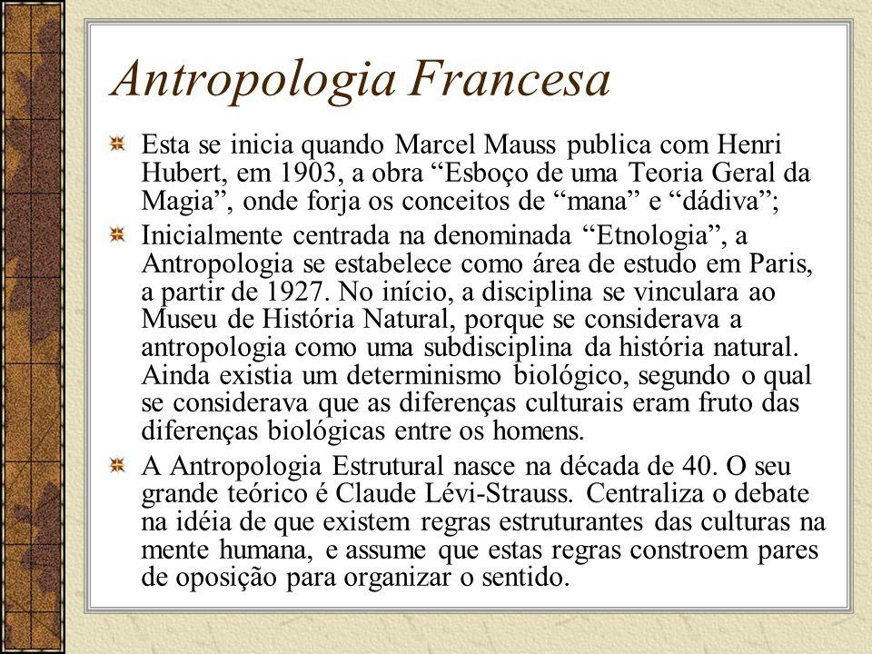 Antropologia Francesa