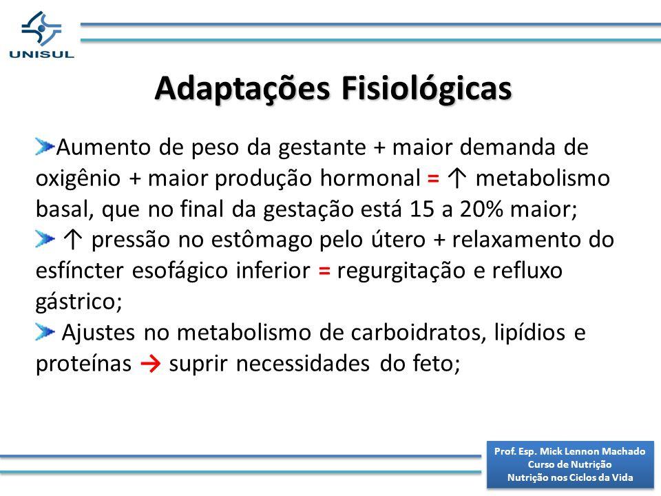 Adaptações Fisiológicas