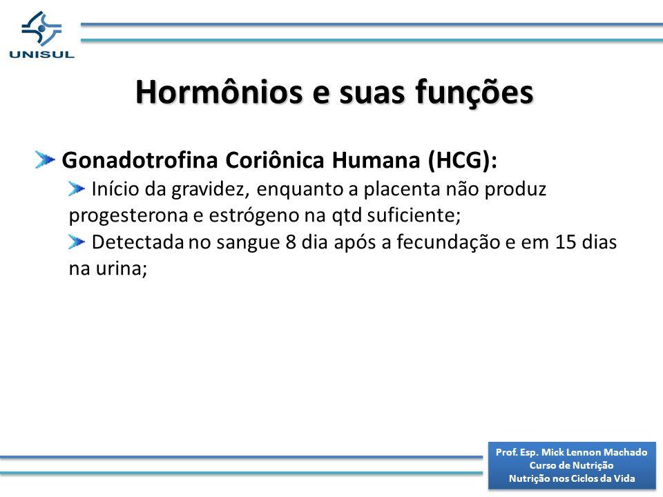 Hormônios e suas funções