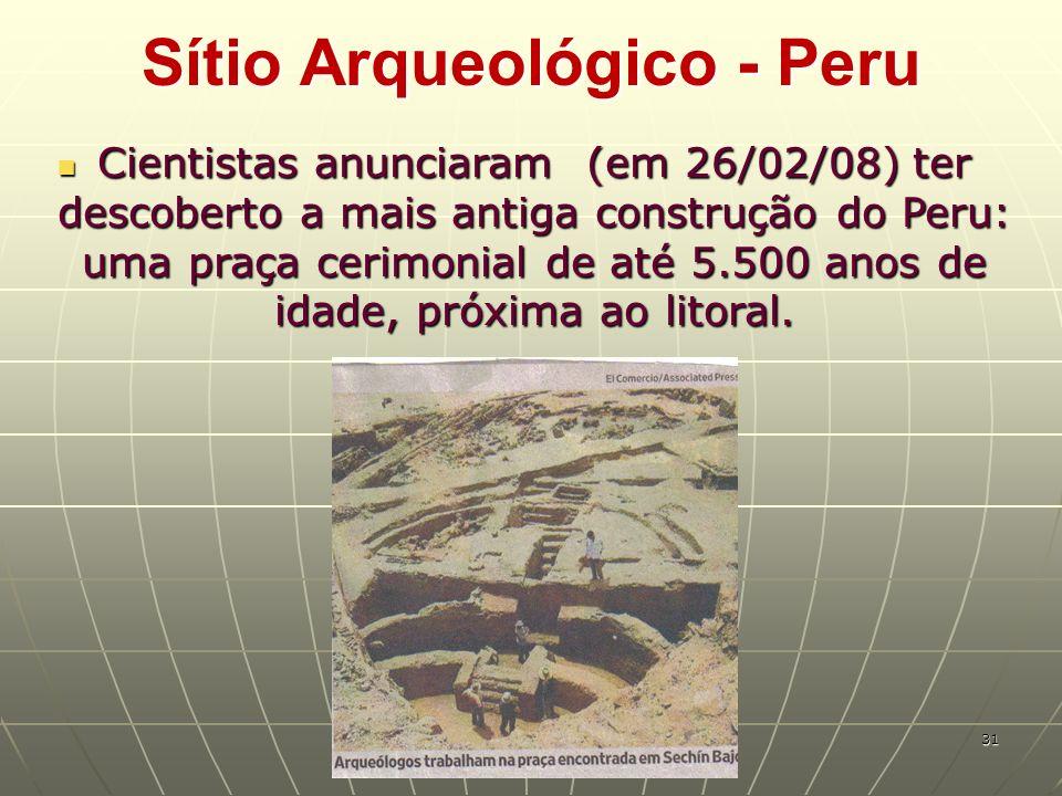 Sítio Arqueológico - Peru